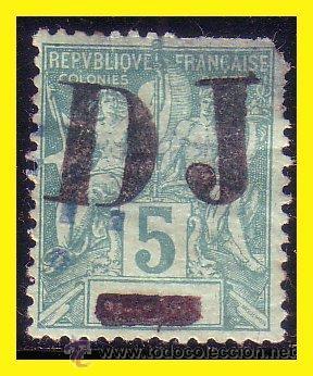 COSTA DE SOMALÍS 1894 IVERT Nº 1 (O) RARO (Sellos - Extranjero - África - Otros paises)