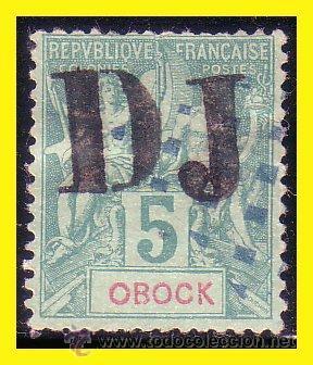 COSTA DE SOMALÍS 1894 IVERT Nº 1A (O) MUY RARO (Sellos - Extranjero - África - Otros paises)