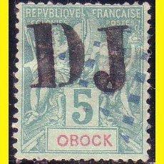 Sellos: COSTA DE SOMALÍS 1894 IVERT Nº 1A (O) MUY RARO. Lote 44304081