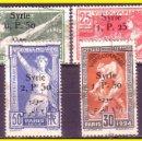 Sellos: SIRIA 1924 IVERT Nº 149 A 152 (O) SERIE COMPLETA. Lote 44736079