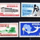 Sellos: NIGERIA 93/96** - AÑO 1960 - INDEPENDENCIA. Lote 160646456