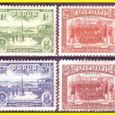 Sellos: PAPUA 1934 IVERT Nº 97 A 100 * COMPLETA. Lote 48952257