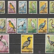 Sellos: REPUBLICA DE BURUNDI. 1965. SERIE. AVES. ( 16-172) *.MH. Lote 49058974