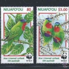 Sellos: TONGA NIUAFO OU 1998 SERIE COMPLETA WWF FAUNA FLORA NATURALEZA NUEVO LUJO MNH *** SC. Lote 49621737