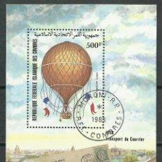 Stamps - Islas Comoras - 1983 - Scott C126 - Usado - 49727504