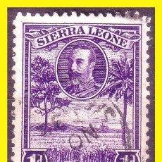 Sellos: SIERRA LEONA 1932 IVERT Nº 126 Y 128 (O). Lote 50544322