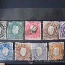Sellos: CABO VERDE,PORTUGAL,1886,D.LUIS I,AFINSA ,YVERT Y SCOTT 15-23,COMPLETA,USADOS. Lote 50779793