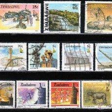 Sellos: ZIMBAWE. LOTE SELLOS MODERNOS. *.MH (16-414). Lote 52539800