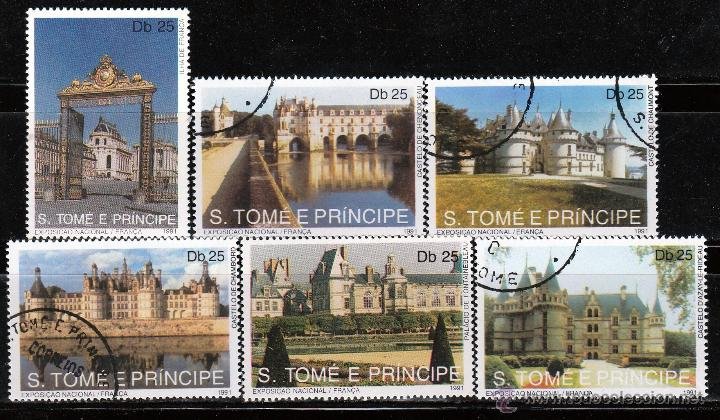 S.TOMÉ E PRÍNCIPE. 1991. SERIE: EXHIBICION MUNDIAL, CASTILLOS *.MH (Sellos - Extranjero - África - Otros paises)