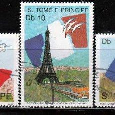 Sellos: S.TOMÉ E PRÍNCIPE. 1989. SERIE: 200º ANIVERSARIO REVOLUCION FRANCESA. *.MH. Lote 52650018