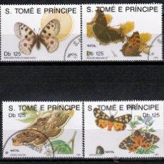 Sellos: S.TOMÉ E PRÍNCIPE. 1991.. SERIE.NAVIDAD. MARIPOSAS *.MH. Lote 52654691