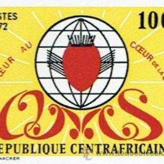 Sellos: AFRICA CENTRAL 1972 REPUBLICA CENTROAFRICANA SIN DENTAR NUEVO LUJO MNH *** 165. Lote 53098016