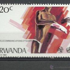 Briefmarken - Ruanda - 1981 - Michel 1127 // Scott 1043** MNH - 53727452