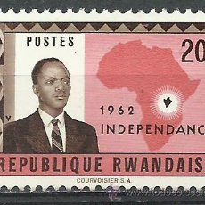 Briefmarken - Ruanda - 1962 - Michel 8 // Scott 8**MNH - 54347697