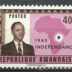 Briefmarken - Ruanda - 1962 - Michel 2 // Scott 2**MNH - 54347706