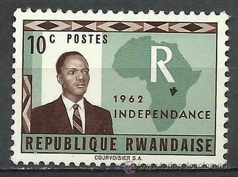RUANDA - 1962 - MICHEL 1 // SCOTT 1**MNH (Sellos - Extranjero - África - Otros paises)