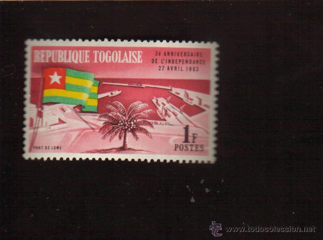 BONITO SELLO DE LA REPUBLICA DE TOGO EL DE LA FOTO QUE NO TE FALTE EN TU COLECCION (Sellos - Extranjero - África - Otros paises)