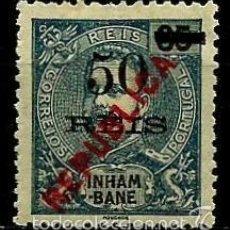 Timbres: INHAMBANE [COLONIA PORTUGUESA] 1914- YV 071 AFI 087 *SIN/GOMA. Lote 56031655