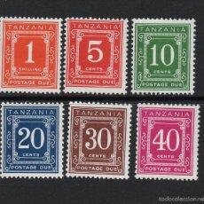 Briefmarken - TANZANIA TASA 1/6** - AÑO 1967 - CIFRAS - 56288380