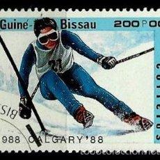 Sellos: GUINEA BISSAU 1988- YV 421 AFINSA-PALOP 611. Lote 56673584