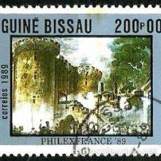 Sellos: GUINEA BISSAU 1989- YV 516 AFINSA-PALOP 740. Lote 56675165