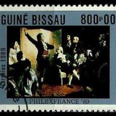 Sellos: GUINEA BISSAU 1989- YV 519 AFINSA-PALOP 743. Lote 56675187