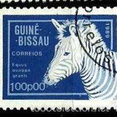 Sellos: GUINEA BISSAU 1989- YV 557 AFINSA-PALOP 778. Lote 56675324