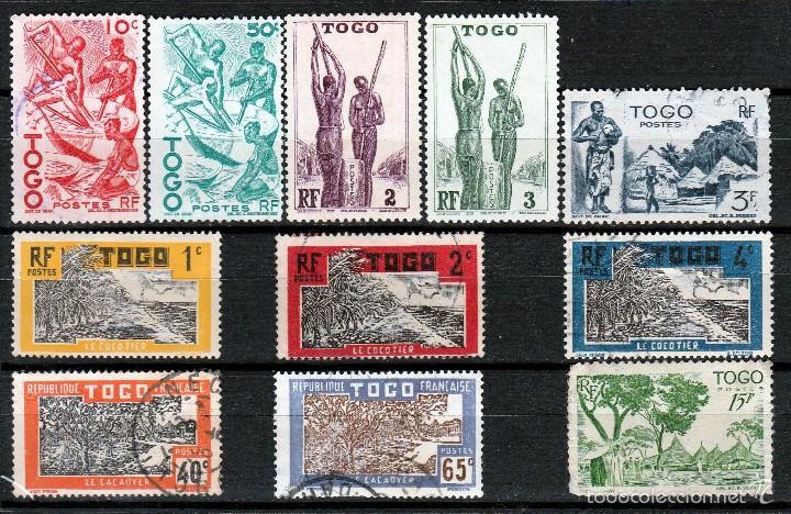 TOGO (FRANCES ) (16-345) LOTE SELLOS ANTIGUOS . **/* (Sellos - Extranjero - África - Otros paises)