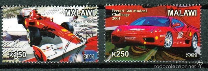 MALAWI. SERIE. FERRARI 2011*.MH(16-365) (Sellos - Extranjero - África - Otros paises)