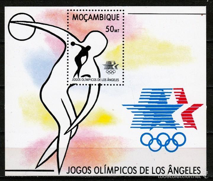 MOZAMBIQUE 1983. HB.JJOO LOS ANGELES 1984. **,MNH (Sellos - Extranjero - África - Otros paises)