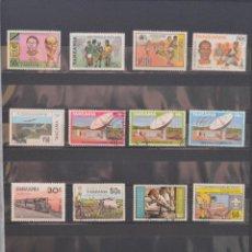 Sellos: LOTE 60 SELLOS TANZANIA TODOS DISTINTOS SELLO AFRICA USADO VER TODOS EN FOTOGRAFIAS. Lote 58326795