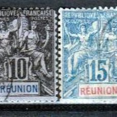 Sellos: REUNION. 1891-2 ( W59). *.MH. Lote 60828239