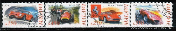 2010. MALAWI.SERIE FERRARI. *MH (Sellos - Extranjero - África - Otros paises)