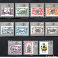 Stamps - SANTA HELENA 387/97** - AÑO 1984 - 150º ANIVERSARIO DE LA COLONIA DE SANTA HELENA - 62317916