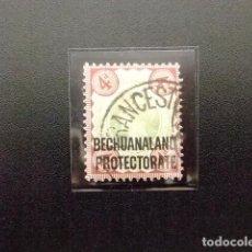 Sellos: BECHUANALAND 1898 -1902 REINA VICTORIA YVERT Nº 20 º FU . Lote 64055067