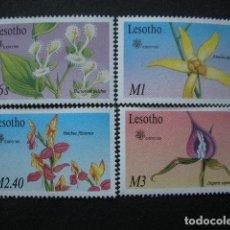 Sellos: LESOTHO 1990 IVERT 901/4 *** FLORA - ORQUIDEAS - EXPO-90 - EXPOSICIÓN INTERNACIONAL DE JARDINES (II). Lote 66587346