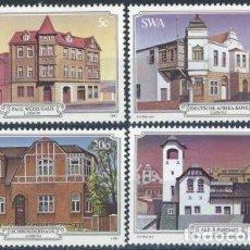 Sellos: AFRICA DEL SUDOESTE - SWA 1981 IVERT 465/8 *** EDIFICIOS HISTÓRICOS DE LUDERITZ - MONUMENTOS. Lote 67157681