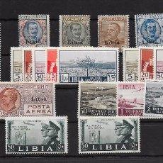 Sellos: LIBIA - OCUPACIÓN ITALIANA. Lote 68495745