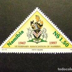 Sellos: NAMIBIA NAMIBIE 1997 ASOCIACION DE VETERINARIA YVERT 812 ** MNH. Lote 68949053