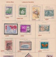 Sellos: LOTE DE 13 SELLOS DE VARIOS PAISES Y AÑOS, USADOS.. Lote 73520099