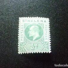 Sellos: SAINTE-HELENE ST HELENA 1902 EDOUARD VII YVERT 27 (*) SIN GOMA. Lote 73667567