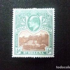 Sellos: SAINTE-HELENE ST HELENA 1903 EDOUARD VII ET PAYSAGES YVERT 29 * MH. Lote 73668443