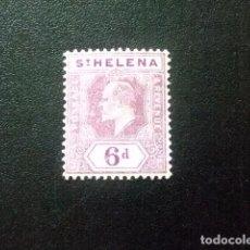 Sellos: SAINTE-HELENE ST HELENA 1908 EDOUARD VII YVERT 37 * MH. Lote 73670903