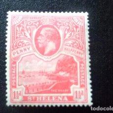 Sellos: SAINTE-HELENE ST HELENA 1922 GEORGE V ET PAYSAGES YVERT 56 * MH . Lote 73673599
