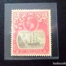 Sellos: SAINTE-HELENE ST HELENA 1923 GEORGE V SCEAU DE LA COLONIE YVERT 76 (*) . Lote 73730251
