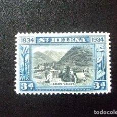 Sellos: SAINTE-HELENE ST HELENA 1934 VALLÉE JAMES YVERT 83 (*) . Lote 73730703