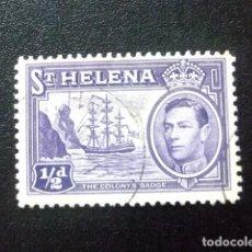 Sellos: SAINTE-HELENE ST HELENA 1938 GEORGE VI YVERT 96 º FU. Lote 73730967