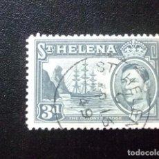 Sellos: SAINTE-HELENE ST HELENA 1938 GEORGE VI YVERT 102 º FU. Lote 73731335