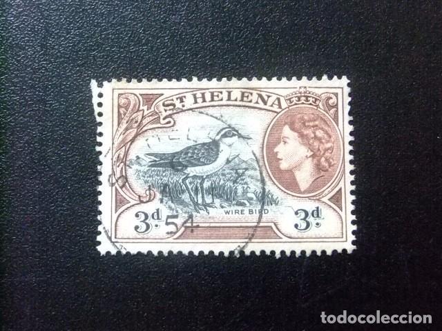 SAINTE-HELENE ST HELENA 1953 ELIZABETH II YVERT 127 º FU (Sellos - Extranjero - África - Otros paises)