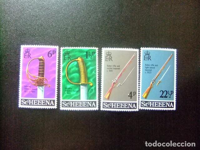 SAINTE-HELENE ST HELENA 1971 EQUIPEMENTS MILITAIRES YVERT 249 / 52 ** MNH (Sellos - Extranjero - África - Otros paises)